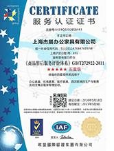 商品售后服务评价体系:五星级认证