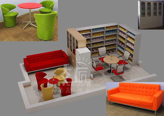 母婴休息室和阅览室
