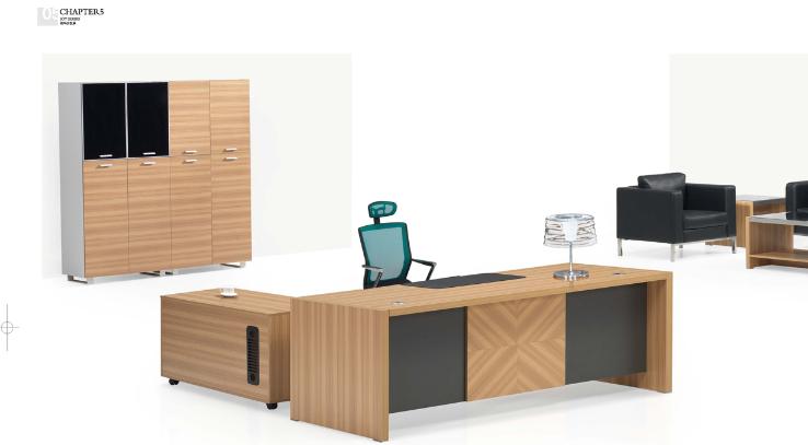 现代办公家具:板式办公桌的优势
