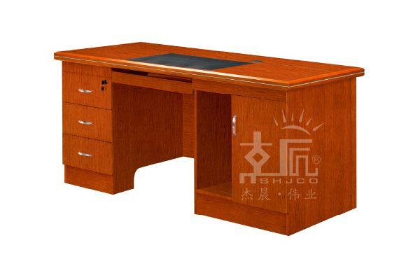 经典双柜实木电脑桌-HF0216