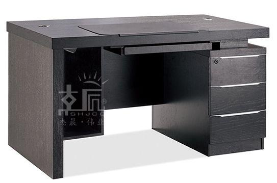 经典双柜实木电脑桌-RF0514