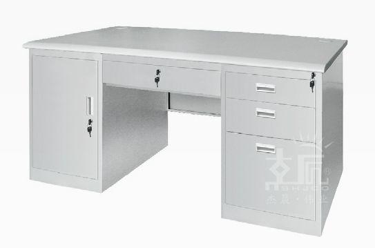 四斗一门钢制办公桌-gzzh001