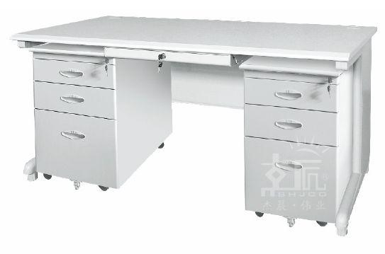 钢制空架办公桌-gzzh006