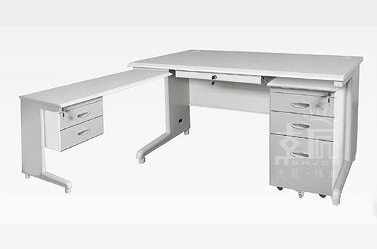 拐角钢制办公桌-gzzh007