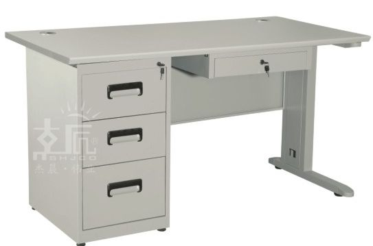 四斗钢制办公桌-gzzh013