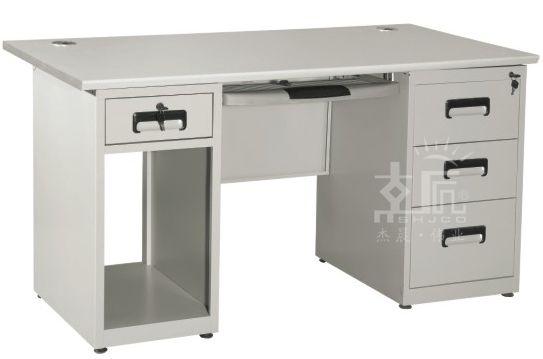 四斗一柜钢制办公桌-gzzh014