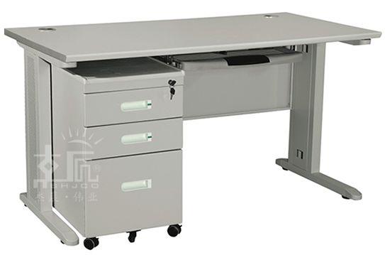 钢制空架办公桌-gzzh019