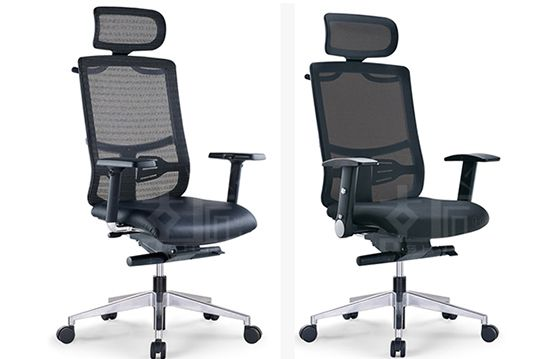 电脑椅-现代大班椅-网布经理椅-WBJLY006