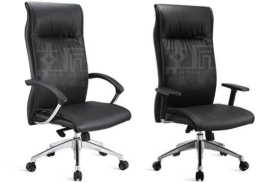 电脑椅-现代大班椅-牛皮经理椅-NPJLY008