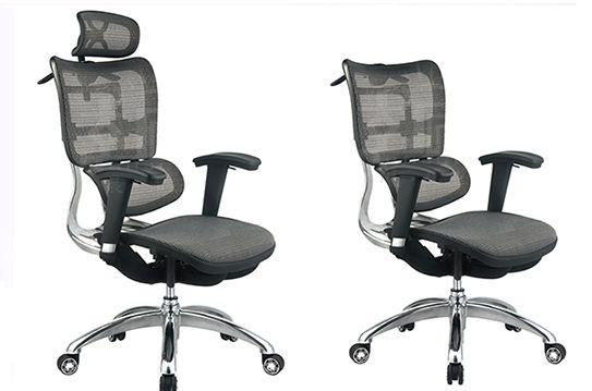 电脑椅-现代大班椅-腰托网椅-YTWBY009