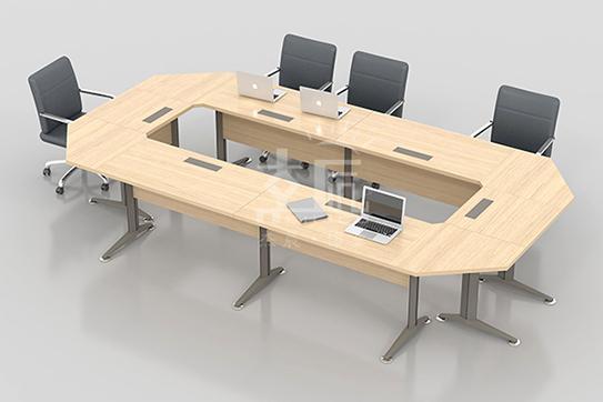 辉成板式会议桌-MH006