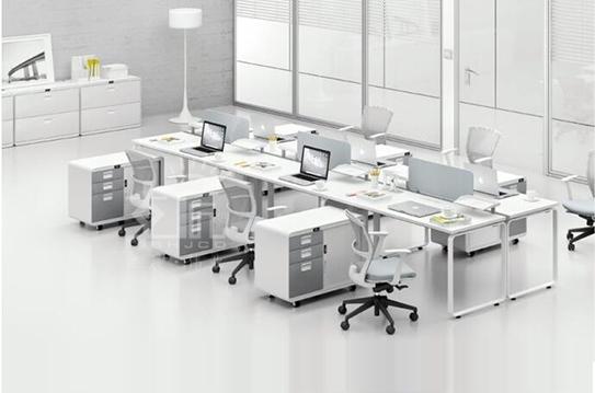 雅辉列屏风办公桌-PFZ033