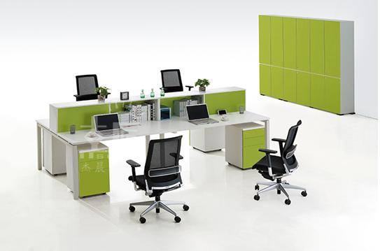 翠然系列屏风办公桌-PFZ036