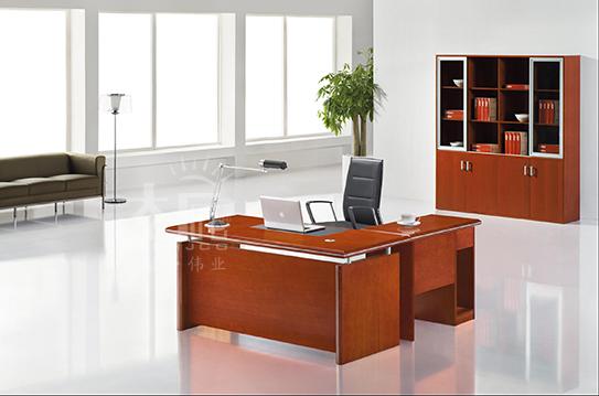 尚格系列实木大班桌-BSZ009