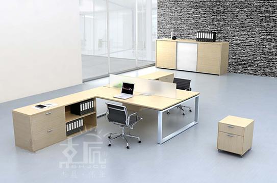 名元系列屏风办公桌-PFZ037