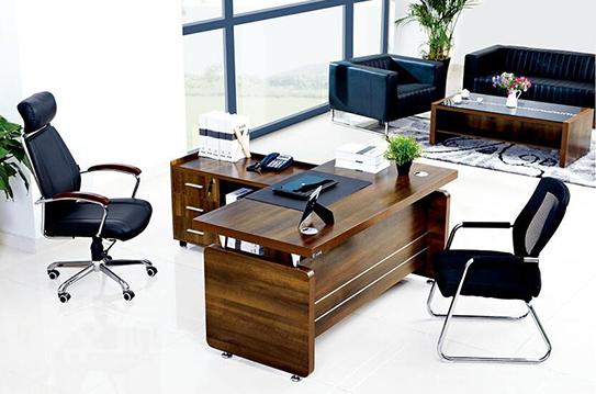余美系列实木大班桌-BSZ010