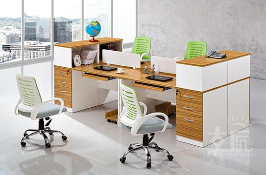 金裕系列屏风办公桌-BSZ011