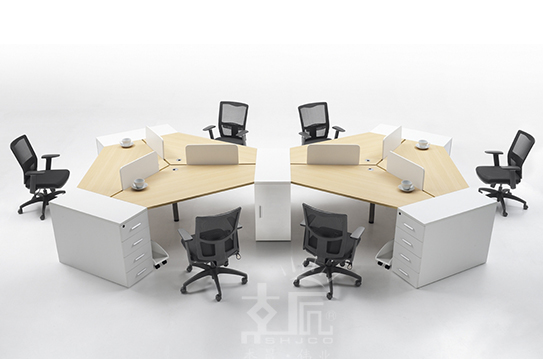 元吉系列屏风办公桌-PFZ040