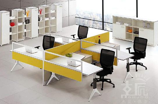 雅尼系列屏风办公桌-PFZ052