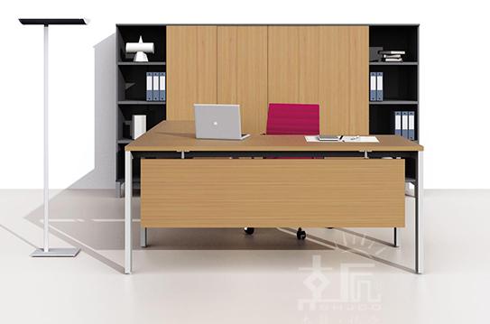 卓乐板式办公桌-BSZ017