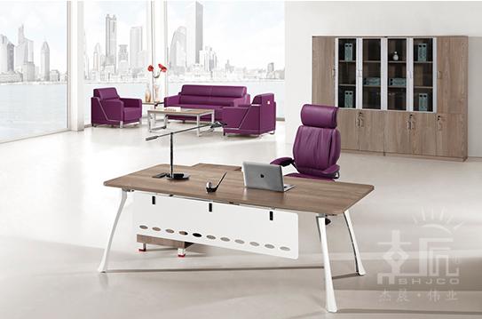 隽丽板式办公桌-BSZ022