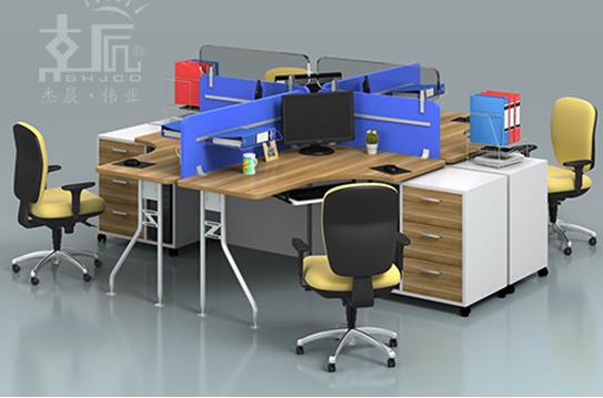 蓝宝屏风办公桌、屏风工作位-PFZ071
