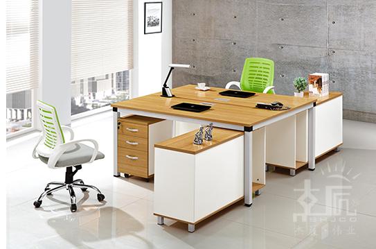 板式办公桌-BSZ035