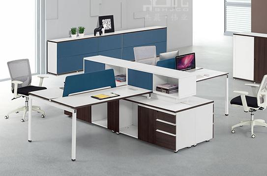 御尚屏风办公桌、屏风工作位-PFZ078