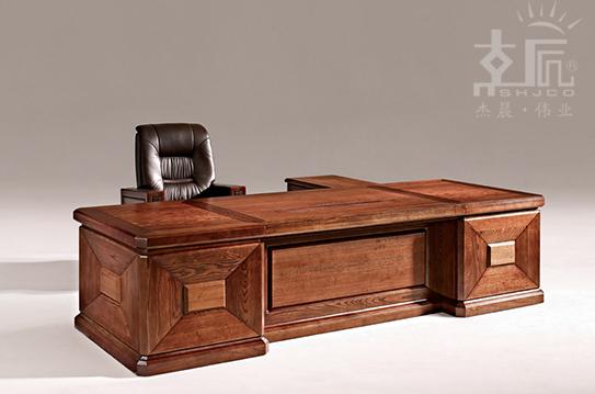 展运系列实木大班桌-SMZ012