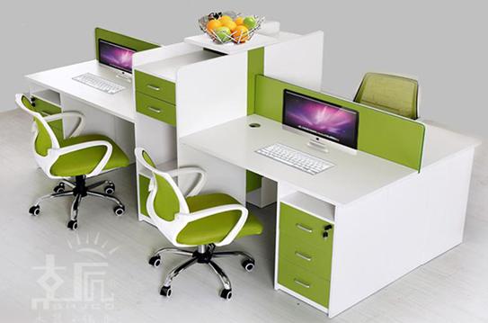 雅克屏风办公桌、屏风工作位-PFZ087