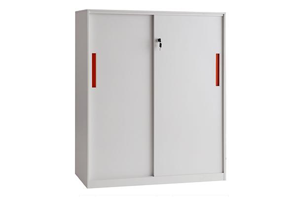 文件柜-三层移门柜(上置)-YMG002