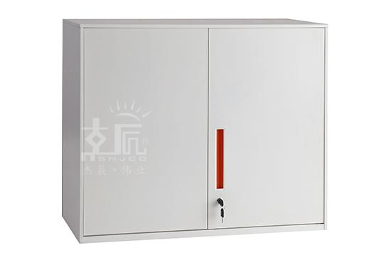 文件柜-两层移门柜(上置)-YMG004