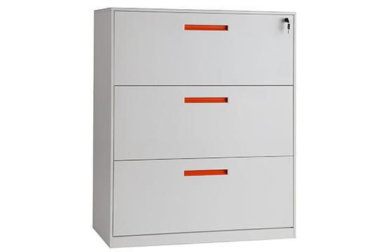 文件柜-三抽理想柜(钢制)-LXG002