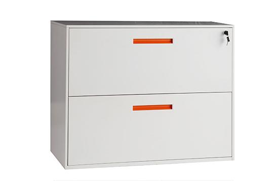 文件柜-两抽理想柜(钢制)-LXG003