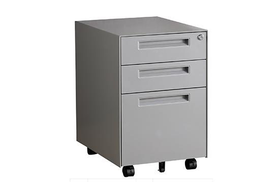 薄边活动柜(动感银)-HDG003