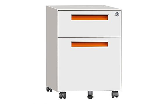 薄边活动柜(两抽)-HDG005