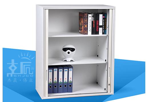 钢制文件柜-卷门柜(三层)-JMG006