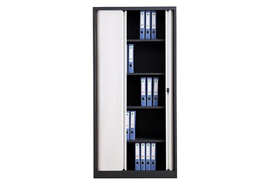 钢制文件柜-卷门柜(半开门)-JMG008