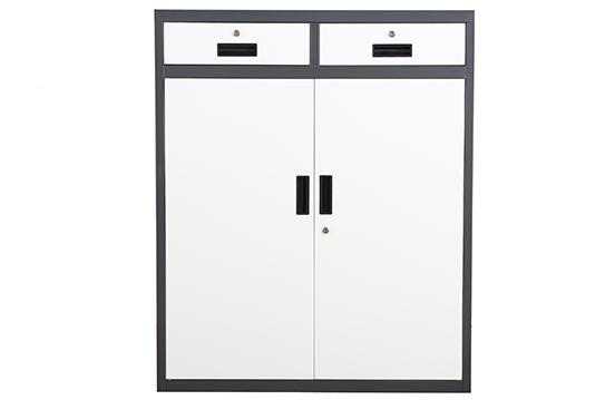 钢制文件柜-二斗双门柜