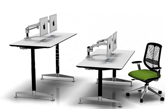 可升降办公桌-SJZ002