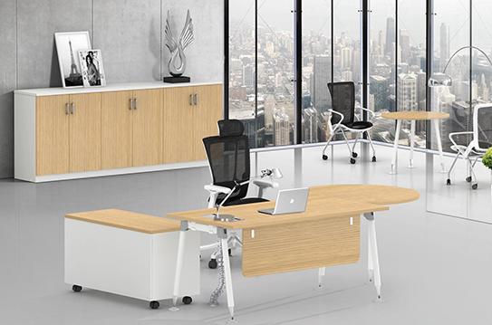 阿奇板式办公桌-BSZ043
