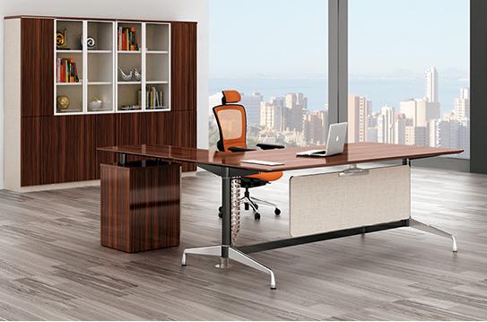 耀元板式办公桌-BSZ045