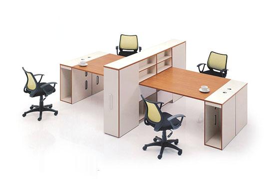 佳云多人位板式办公桌-BSZ015