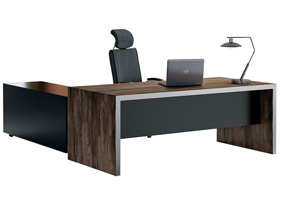 办公桌-板式大班台-LD002