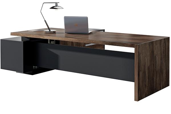 办公桌-板式大班台-LD003