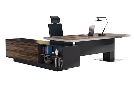 办公桌(板式经典款)-004