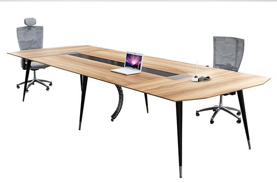 会议桌—(钢木经典型)002