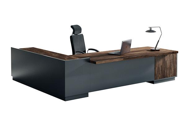 办公桌-板式大班台-LD005