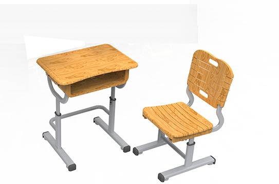 课桌椅-新款(木纹)