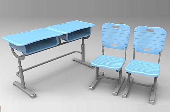 课桌椅-新款(双人位)